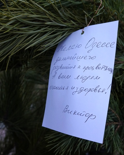 Символ Одессы стал деревом желаний (ФОТО), фото-7
