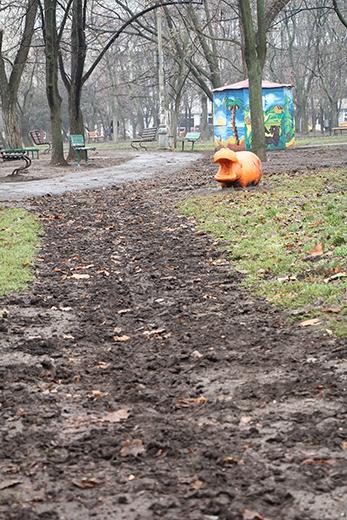 В одесском парке Победы наводят марафет (ФОТО), фото-10
