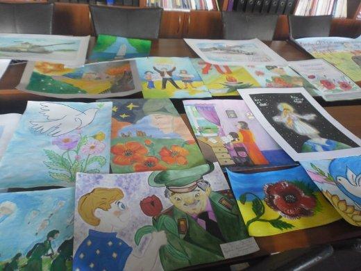Парк победы конкурс рисунков