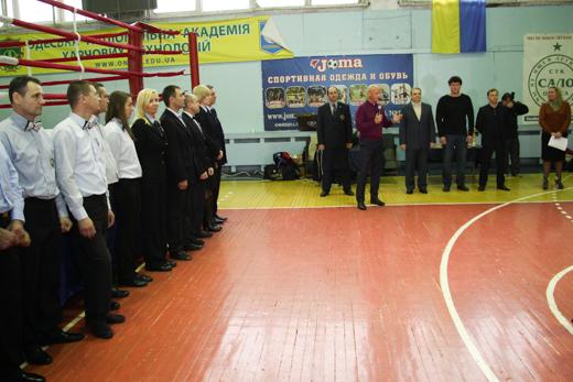 IMG_3543 В Одессе открыли финал Кубка Украины по таиландскому боксу