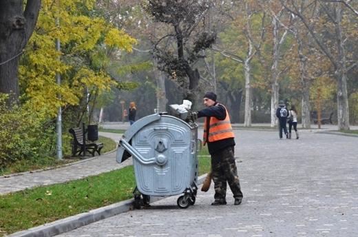 DSC_3367 Из одесских парков после уборки вывезли 200 тонн мусора
