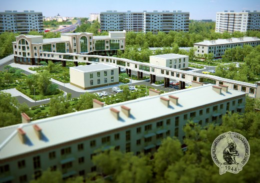 logo1 В Одессе две больницы соединят воздушным переходом