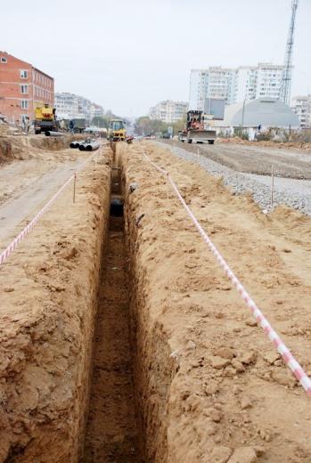 4 Грандиозную дорогу в одесском поселке Котовского обещают построить к концу года