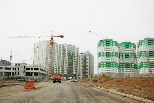DSC_0181 Грандиозную дорогу в одесском поселке Котовского обещают построить к концу года