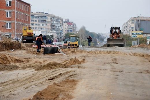 DSC_0201 Грандиозную дорогу в одесском поселке Котовского обещают построить к концу года