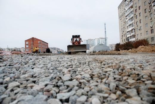 DSC_0217 Грандиозную дорогу в одесском поселке Котовского обещают построить к концу года