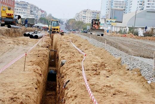 DSC_0227 Грандиозную дорогу в одесском поселке Котовского обещают построить к концу года