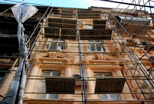 4 В Одессе взялись за реставрацию здания, в котором расположен всемирный клуб одесситов