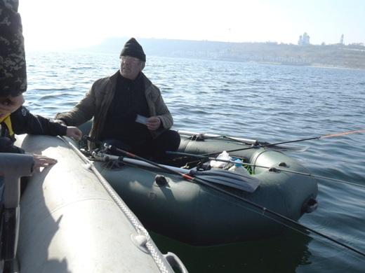 SAM_2536 В Одессе перевернулись две лодки с рыбаками