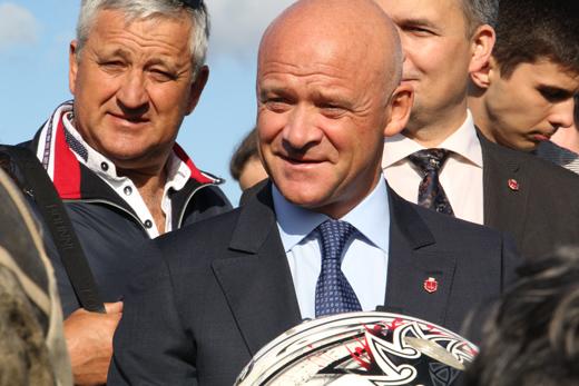 27 В депрессивном районе Одессы Труханов хочет проводить Олимпийские игры