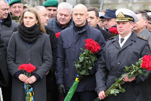 IMG_7168 В Одессе отметили День героев Небесной Сотни