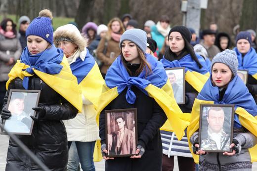 IMG_7192 В Одессе отметили День героев Небесной Сотни