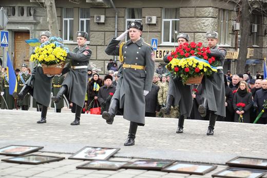 IMG_7199 В Одессе отметили День героев Небесной Сотни