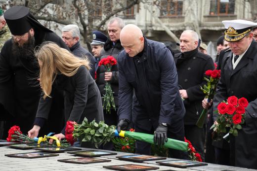 IMG_7219 В Одессе отметили День героев Небесной Сотни
