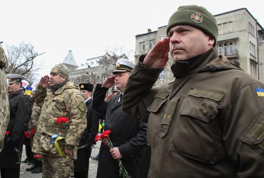 IMG_7230 В Одессе отметили День героев Небесной Сотни