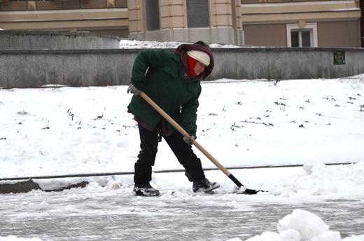 В Одессе коммунальщики убирают снег (ФОТО), фото-5