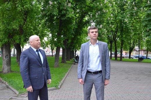 DSC_7496 В центре Одессы газон будет сам себя поливать