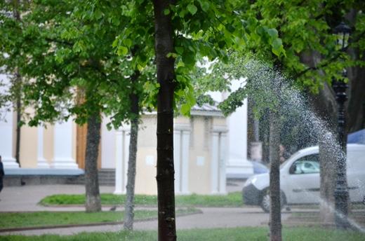 DSC_7507 В Одессе Соборную площадь оборудовали системой автополива