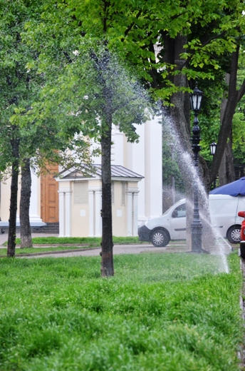 DSC_7520 В Одессе Соборную площадь оборудовали системой автополива