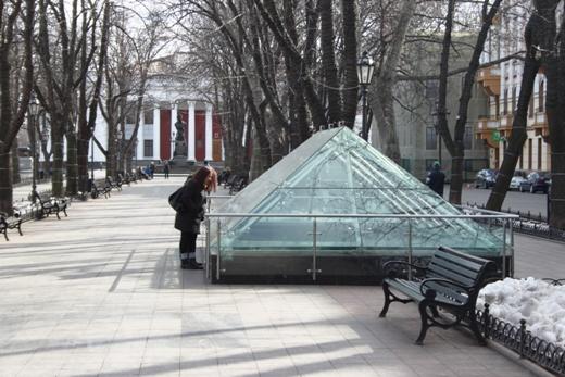 IMG_5467 Вандалы в Одессе снова уничтожили аллею лип в Лунном парке