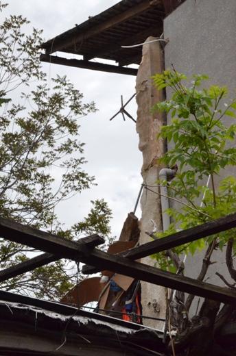 DSC_7762 Семью из разрушенного в Одессе дома отселили в гостиницу