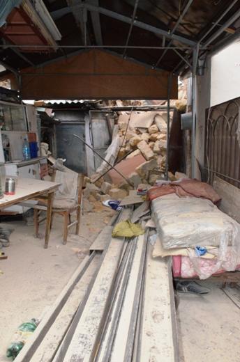DSC_7764 Семью из разрушенного в Одессе дома отселили в гостиницу