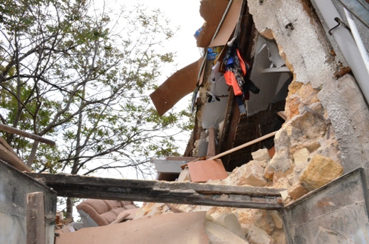 DSC_7765 Семью из разрушенного в Одессе дома отселили в гостиницу