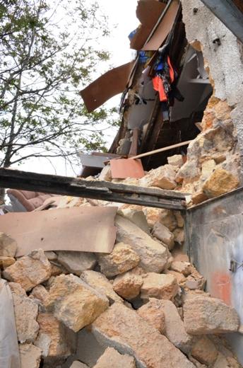 DSC_7766 Семью из разрушенного в Одессе дома отселили в гостиницу