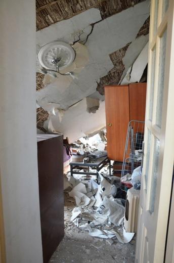 DSC_7768 Семью из разрушенного в Одессе дома отселили в гостиницу