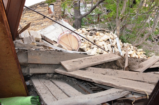 DSC_7773 Семью из разрушенного в Одессе дома отселили в гостиницу