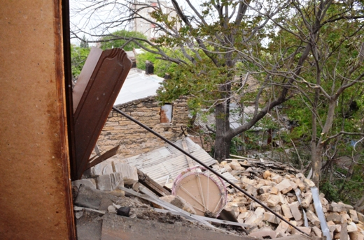 DSC_7775 Семью из разрушенного в Одессе дома отселили в гостиницу