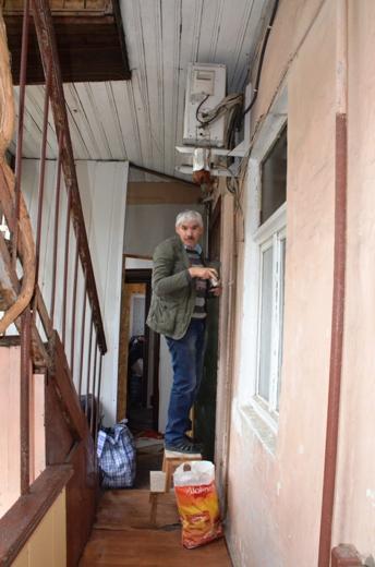 DSC_7777 Семью из разрушенного в Одессе дома отселили в гостиницу