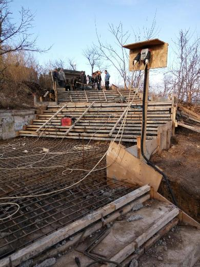 Arkadia Мраморную лестницу в Аркадии восстановят уже весной