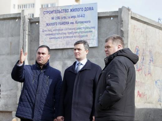 IMG_6743 В Одессе активно строят первый социальный дом