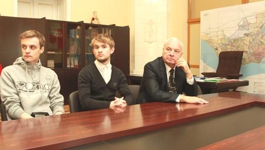 IMG_5417 Проект одесских студентов по благоустройству Лунного парка получил приз в мэрии