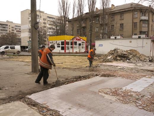 13 В Одессе перерыли Большой Фонтан