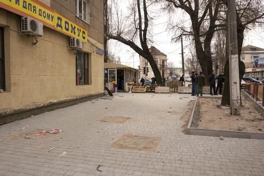 17 В Одессе перерыли Большой Фонтан