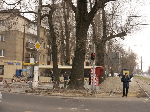 19 В Одессе перерыли Большой Фонтан