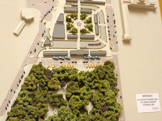 777 В Одесской мэрии показали во что собираются превратить Старосенную площадь