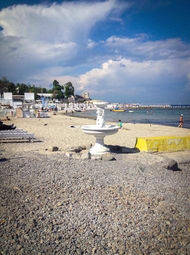 4 В одесской Отраде облагородят кусочек бесплатного пляжа