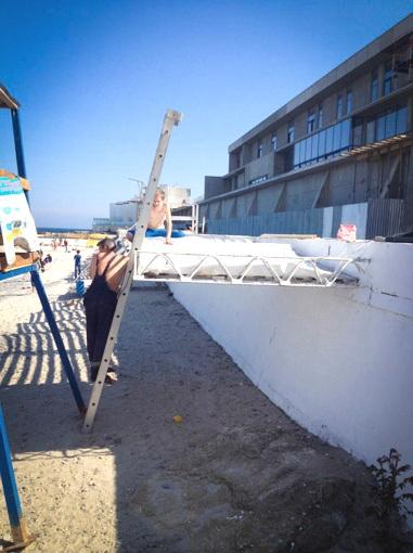 9 В одесской Отраде облагородят кусочек бесплатного пляжа