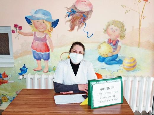 poliio02 Отремонтированные одесские поликлиники показали заграничным киношникам