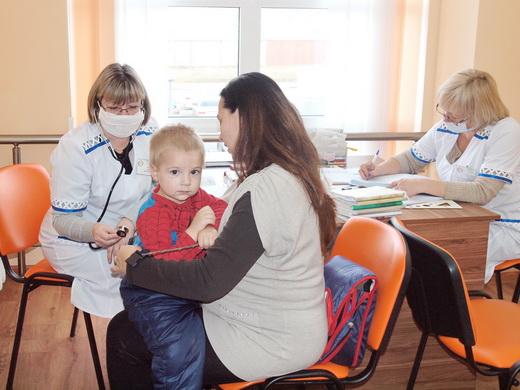 poliio07 Отремонтированные одесские поликлиники показали заграничным киношникам