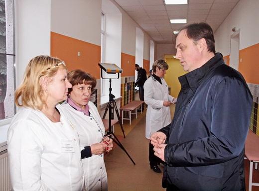 poliio13 Отремонтированные одесские поликлиники показали заграничным киношникам