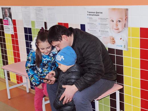 poliio14 Отремонтированные одесские поликлиники показали заграничным киношникам