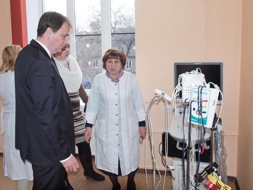 poliio19 Отремонтированные одесские поликлиники показали заграничным киношникам