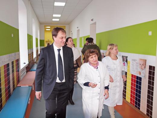 poliio21 Отремонтированные одесские поликлиники показали заграничным киношникам