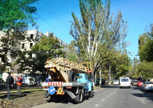 5 В Одессе продолжают ликвидировать последствия стихии