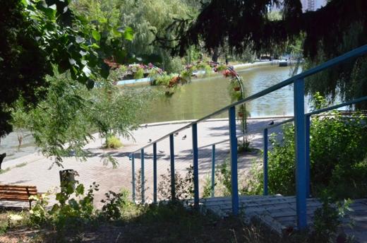 DSC_2018 В одесском дендропарке высушат последний пруд