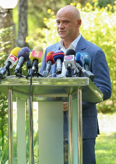 IMG_9925 Геннадий Труханов и Михеил Саакашвили: мы подтверждаем готовность Одессы к проведению Евровидения-2017